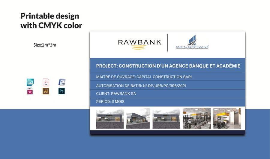 Bài tham dự cuộc thi #                                        26                                      cho                                         Design A Construction Project Billboard