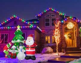#26 for Blow Up Inflatable Outdoor Christmas Santa Claus and the Grinch by vaishnasubram