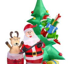 #35 for Blow Up Inflatable Outdoor Christmas Santa Claus and the Grinch by vaishnasubram