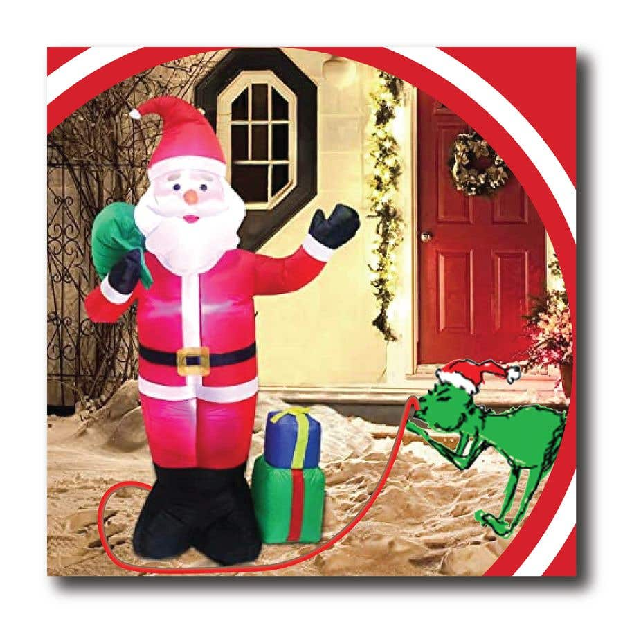 Contest Entry #                                        9                                      for                                         Blow Up Inflatable Outdoor Christmas Santa Claus and the Grinch