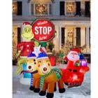 Blow Up Inflatable Outdoor Christmas Santa Claus and the Grinch için Graphic Design12 No.lu Yarışma Girdisi