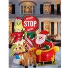 Blow Up Inflatable Outdoor Christmas Santa Claus and the Grinch için Graphic Design14 No.lu Yarışma Girdisi