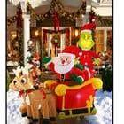 Blow Up Inflatable Outdoor Christmas Santa Claus and the Grinch için Graphic Design25 No.lu Yarışma Girdisi