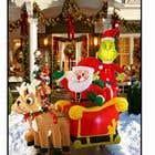 Blow Up Inflatable Outdoor Christmas Santa Claus and the Grinch için Graphic Design33 No.lu Yarışma Girdisi