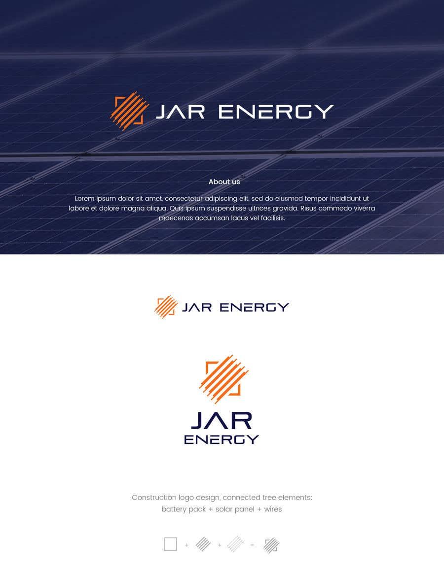 Penyertaan Peraduan #                                        270                                      untuk                                         JAR Energy Logo and Brand Kit