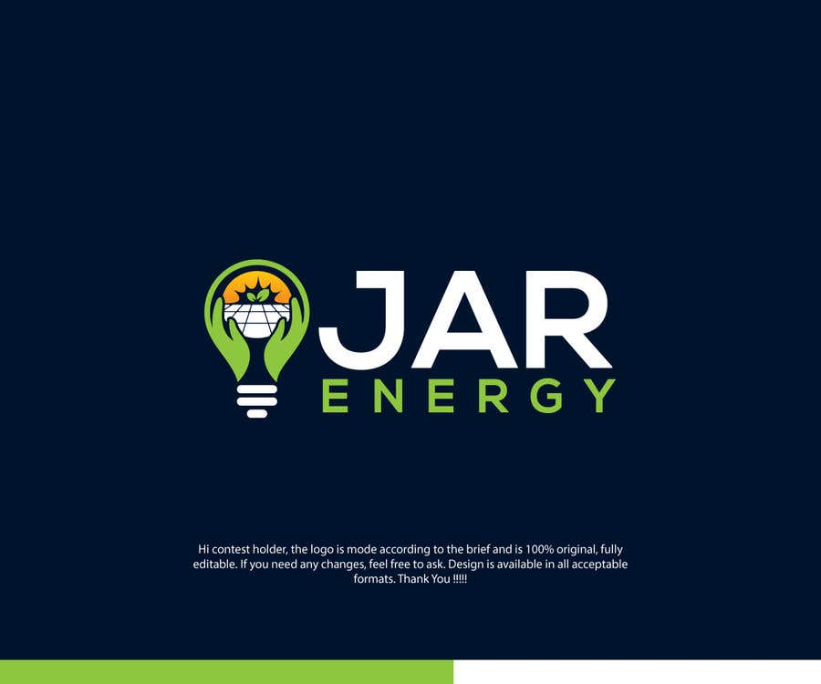 Konkurrenceindlæg #                                        1088                                      for                                         JAR Energy Logo and Brand Kit