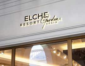 Nro 221 kilpailuun Logo para Elche Garden Resort käyttäjältä nilufab1985