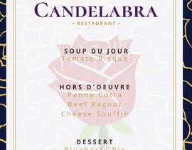 """#13 for Menu Beauty and the Beast """"The Enchanted Candelabra"""" by portentojanna"""