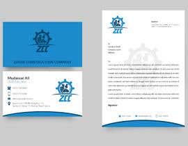 #111 for Business Card and Company Letter Pad Design for a Construction Company by nhshamim493