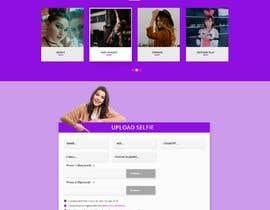 Nro 45 kilpailuun Single page website with functional form käyttäjältä sk1354607