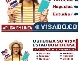 #258 untuk Billboards for USA Travel Visa Business oleh Nayanfn2