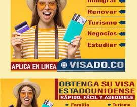 #260 untuk Billboards for USA Travel Visa Business oleh Nayanfn2