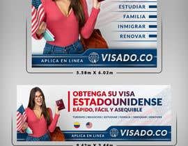 #103 untuk Billboards for USA Travel Visa Business oleh SAKTI2