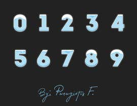 notisfass tarafından Need an artist to draw numbers from 0 to 9 in different themes and styles için no 35