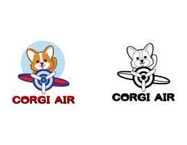 #215 для Need a Line Art Logo for Corgi Air от imtiazimti