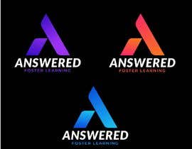 #388 for Logo Design for Answered (EduTech Startup) by shahmeerrajpoot3