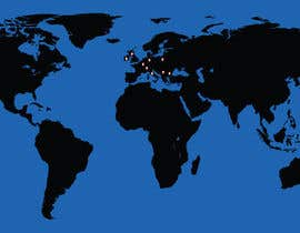 #32 for create a world map with markers af Suranjitpaul8