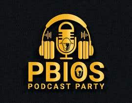 sharminnaharm tarafından PBIOS Podcast Party logo için no 295