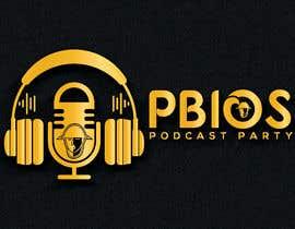 sharminnaharm tarafından PBIOS Podcast Party logo için no 296