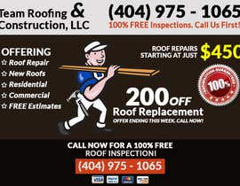 #2 for Design a Banner for Marietta Roofing Services af dani786