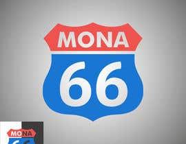 Nro 57 kilpailuun Mona's 66th birthday logo käyttäjältä TimNik84
