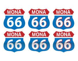 Nro 65 kilpailuun Mona's 66th birthday logo käyttäjältä masrufulbd