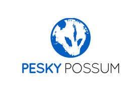#79 for Design a Logo for Pesky Possum Pest Control by SivaKarthiDot
