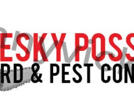 #48 para Design a Logo for Pesky Possum Pest Control por dannyvickers96