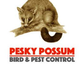 #81 para Design a Logo for Pesky Possum Pest Control por lukesrad