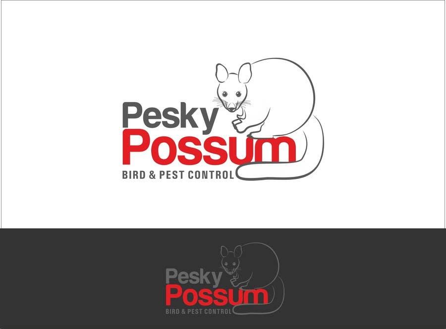 Penyertaan Peraduan #20 untuk Design a Logo for Pesky Possum Pest Control