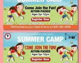 arifhossen21 tarafından Summer Camp Banner Design için no 167