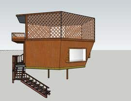 #95 para Design a treehouse on top of a tree that was trimmed and cut por GRANADA4ARCH
