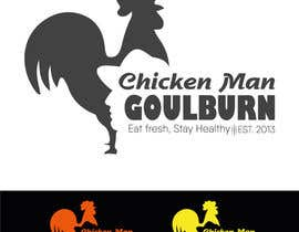 Nro 24 kilpailuun Logo design for chicken shop käyttäjältä deskmanminhaj