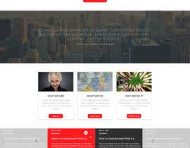 #15 cho Design a Website Mockup for a finance company bởi PetruDesign