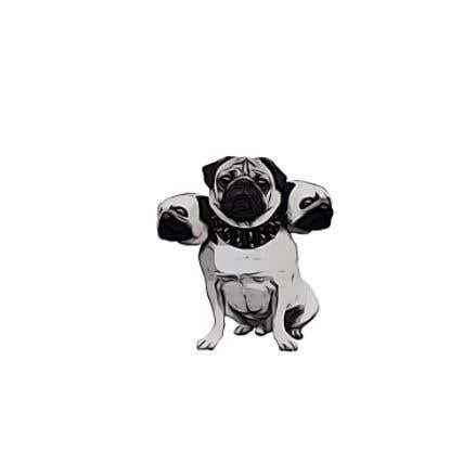 Kilpailutyö #                                        97                                      kilpailussa                                         cerberus puppy