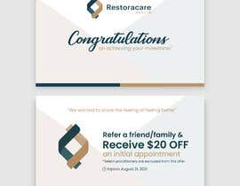 """#107 for 3"""" x 5"""" Double sided Promotional Card For Clinic Opening by se7ensky"""