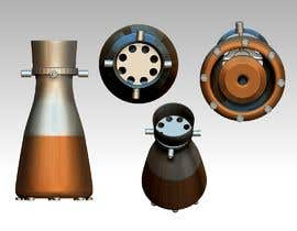 #10 for Illustration of an Future product - Rocket Engine Prototype Simulation for pitch deck af publishinggurus