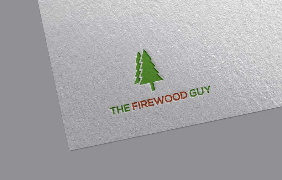 """Bài tham dự cuộc thi #                                        7                                      cho                                         """"The Firewood Guy"""" Logo"""
