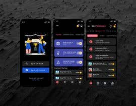 #136 for Reskin 3 Screens from App. Winner will be awarded a full project. af utkhan9