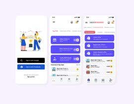 #138 for Reskin 3 Screens from App. Winner will be awarded a full project. af utkhan9