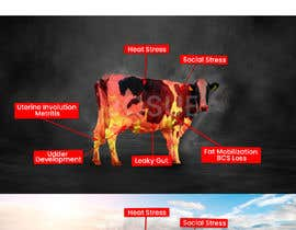 #36 for Make me a Cow Fire Graphic by joshuacastro183