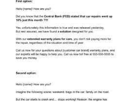 Nro 31 kilpailuun Rewrite Marketing Email käyttäjältä agentereal