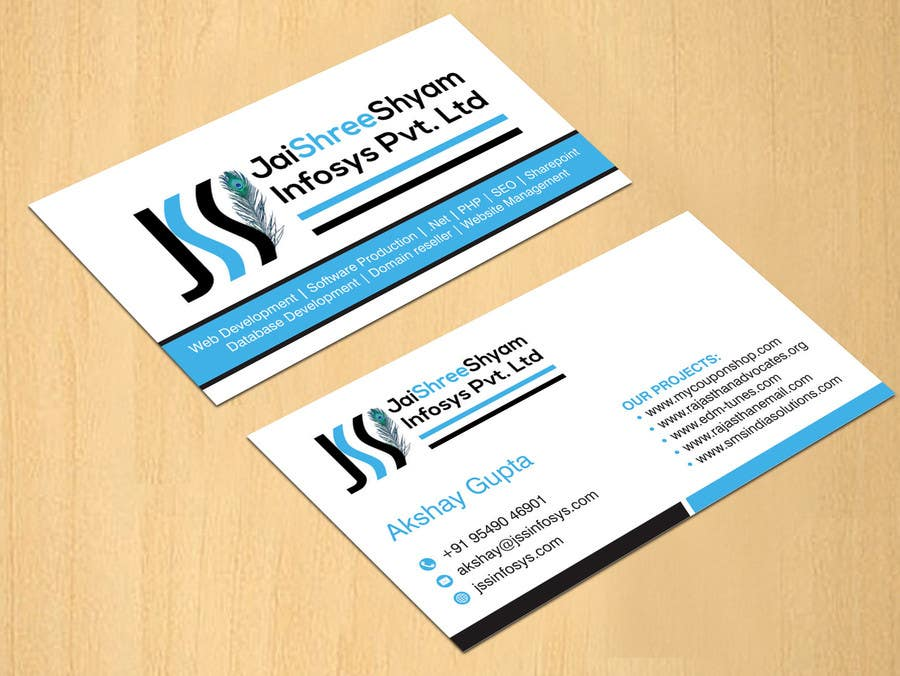 Entry #10 by dinesh0805 for Design some Business Cards for My ...