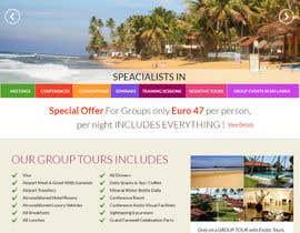 #17 untuk Design a Website Mockup for www.SriLankaMICE.com oleh amitwebdesigner