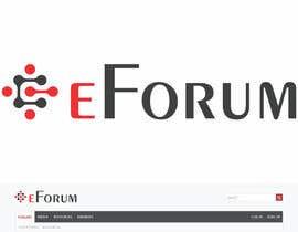 Nro 30 kilpailuun eForum logo käyttäjältä RebelliousDesign