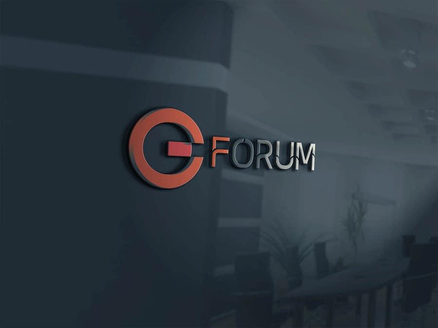Penyertaan Peraduan #118 untuk eForum logo