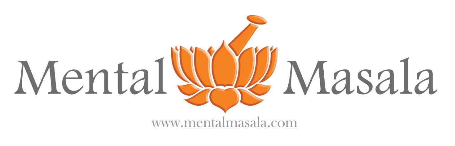 Konkurrenceindlæg #                                        22                                      for                                         Design a Logo for Mental Masala (www.mentalmasala.com)