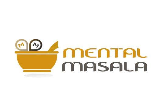 Konkurrenceindlæg #                                        27                                      for                                         Design a Logo for Mental Masala (www.mentalmasala.com)