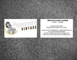 #28 for Design Business Cards and Advertisement for Reporters Vintage af casdesignstudio