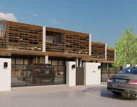 #25 for Help me draw 4 design vacation homes/apartments within 1140m2 land (in Curacao) by AeArts
